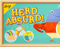'Herd Absurd' iPad/iPhone Game
