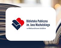 Public Library, Aleksandrów Łódzki | Logo design