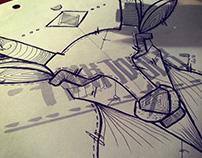 Inktober 2015 | Desoqp Ink