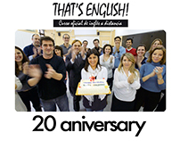 20 Aniversario video fot That´s English ! by Goodnews
