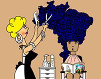 Aparecida, a menina com cabelos de Brasil - 2014