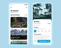Travelling App for Android