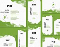 PHI | Cosméticos Naturais