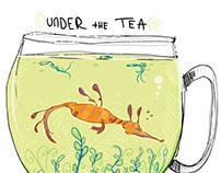 Under the Tea Tshirt Design