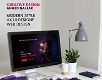 Portfolio PSD Template /ux ui design (website)