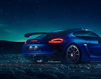 Porsche GT4 Northern Lights