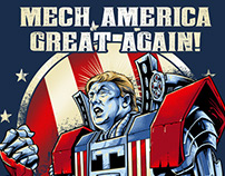 Mech America Great Again