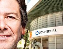 Campaña institucional para Los Heroes