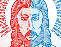 Red State/Blue State Jesus