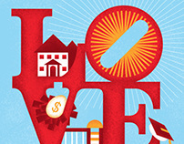 Moving to Philly Editorial Illustration