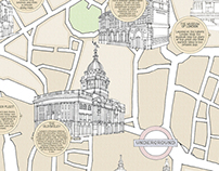 Illustrated Maps for Herb Lester & Winkworth