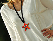 'Starfish' necklace