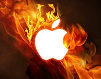 iPhone Wallpaper | Burning Mac