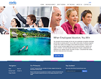 Online Travel Agent Website Redesign - Purple Baby!