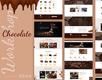 Chocolate Workshop - Webdesign site ecommerce