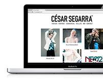 CÉSAR SEGARRA — Website