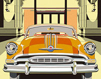 Catalog Illustrations for Shanghai Auto Museum