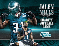 Jalen Mills 2018 Charity Softball Game