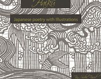 Japanese poetry HAIKU with illustrations
