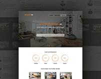 Interior69 : Interior Design Service PSD Template