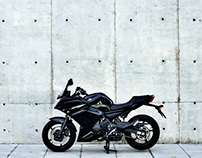 Yamaha Diversion F product photography