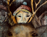 Snow Queen-Illustrations and Set Design