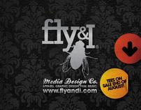 Fly and I Media Design Branding