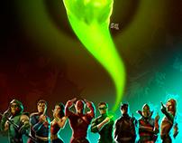 Justice League Antilluminati serie