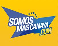 Web site e Identidad para SomosMasCanaya.com