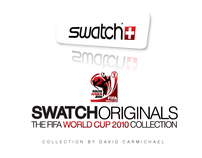Swatch World Cup 2010 South Africa Collection