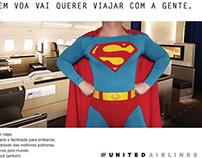 Anúncio United Airlines