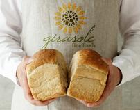 Girasole fine foods brand identity