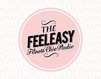 """FEELEASY"" Yoga & Pilates Studio Brand Identity"