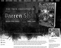 Darren Shan Website