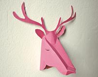 XMAS DEER HEAD (bring a deer in your Christmas)