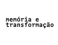 memória e transformação
