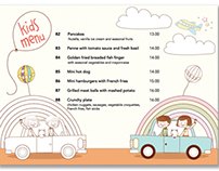 Conrad Hotel Kids Menu