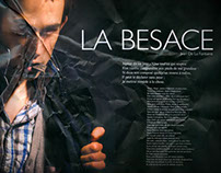 La besace - The beggar's Pouch Jean de la Fontaine