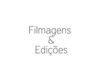 Filmagens e edições