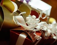 Hand made gift box.