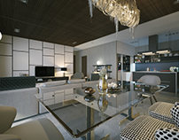 Living and dining apartments