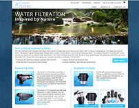 Purain Filters Website Design