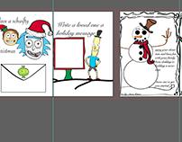 Rick and Morty Christmas card