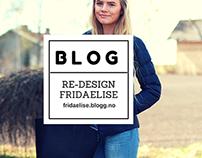 Re-Design Webblog