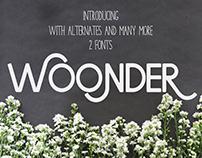 Woonder [ 2 Fonts ]