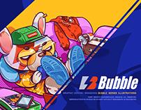 BUBBLE#2018插画合集VOL.1#