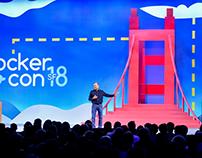 Dockercon Event Illustrations