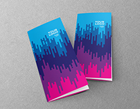 Colorful Artist Design Trifold
