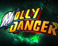 Molly Danger Logo / Animated Show Open