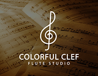 Colorful Clef Flute Studio
